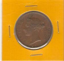 STRAITS SETTLEMENTS COIN - ONE CENT (1845) HIGH GRADE!!