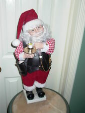 Santa Claus Christmas Animated Motionette Lights Up