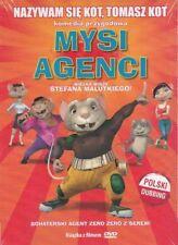 Mysi Agenci wielka misja Stefana Malutkiego, DVD dla dzieci, Polish, po polsku