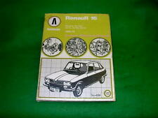 AVENGER CHRYSLER HILLMAN SUNBEAM PLYMOUTH CRICKET USED AUTOBOOK WORKSHOP MANUAL