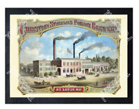 Historic The Phoenix Brewery, St. Louis 1900s Beer Ad Postcard