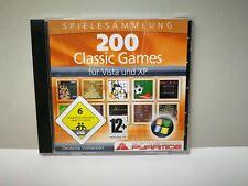 200 Classic Games Spielesammlung für Vista und XP - PC CD ROM