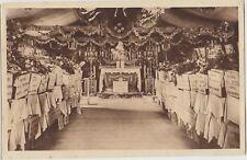 DOUAUMONT Verdun FRANCE Shrine Coffins Temp Charnel House Vintage PC c1920s