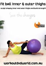 Fit Ball Exercise DVD - Barlates Body Blitz FIT BALL INNER AND OUTER THIGHS!