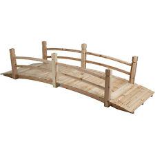 Stonegate Designs 7ft. Wooden Bridge, Model# Dsl-4212-Wp