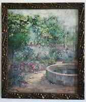Manuel PIGEM (Banyoles, 1862 - 1946)  Huile sur toile 63x54
