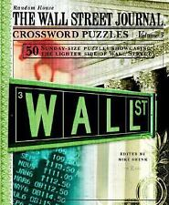 NEW - The Wall Street Journal Crossword Puzzles, Volume 3 by Shenk, Mike