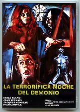 LA TERRORÍFICA NOCHE DEL DEMONIO (DVD NOVEDAD PRECINTADO IMPORTACIÓN) TERROR