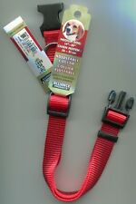 "Alliance Products Adjustable Medium Dog Collar 14""-20"" Red, Blue,Black 3/4"" Wide"