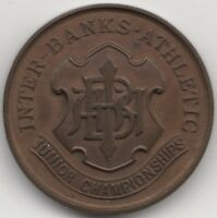 1934 Inter-Banks Junior Athletics Championships Medal S.M.MERRY | Pennies2Pounds