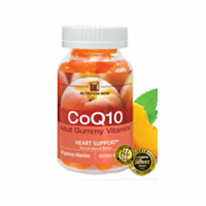 Vitamin Coq10 Gummy Chewables 60 CT  by Nutrition Now