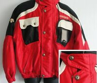 Ski Snowboard Men's Jacket  Descente  M - L Vintage Colorblock Elastic Waist