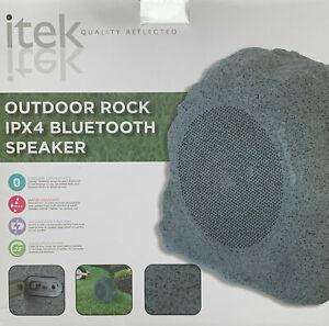Itek Bluetooth Waterproof Outdoor Rechargeable Garden Rock Portable Speaker IPX4