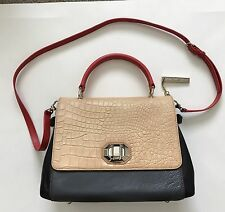 DKNY Bag Snob The Treasure Two Tone Top Handle Bag Excellent Condition MSRP $365