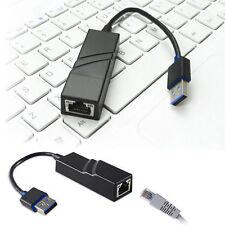 USB 3.0 to Rj45 100/1000mbps Gigabit Ethernet LAN Network Card Adapter Splitter