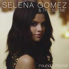 New: SELENA GOMEZ & THE SCENE - Round & Round CD Single (2-Tracks)