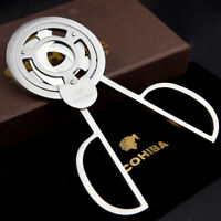 Cool New COHIBA Stainless Steel 3 blades Cigar Scissors Cutter Cigar Accessories