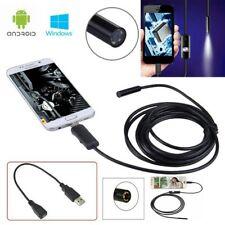sonda telecamera USB endoscopica 1,5 metri connessione a pc e telefono Android