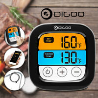 Digoo DG-FT2103 Digital LED Touch Bluetooth Cooking Meat Thermometer BBQ Kitchen