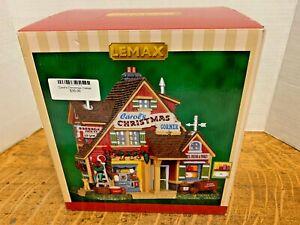 LEMAX  Carol's Christmas Corner   #35545Lighted Building  2013 FREE SHIPPING