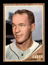 1962 Topps #418 Andy Carey  EXMT/EXMT+ X1593321