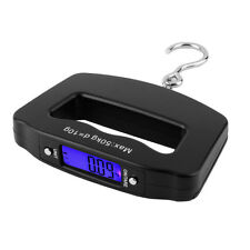 50kg/10g LCD Digital Fishing Hanging Electronic Scale Hook Weight Luggage A^^&UW