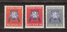Nederlands Indie Indonesie 290 - 292 MNH Netherlands Indies 1941 Vrij Nederland