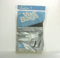 HomeCare Vac bags Type A Hoover Upright vacuum cleaner 3 Pack 3017 Bissell