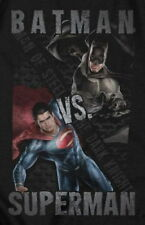 Batman Versus Superman T-Shirt Size XL Dawn Of Justice Mens Black