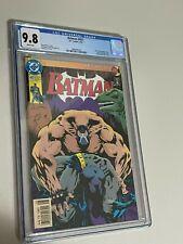 Batman #497 CGC 9.8 Newsstand Edition (023)