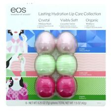 EOS Lip Balm 6 Pack Lasting Hydration Moisture Lip Care Spheres Bulk