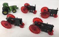 Lot Of 5 John Deere tractor indoor/outdoor Christmas Light Covers
