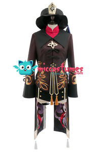 Hu Tao Cosplay Costume Chinese Traditional Outfit