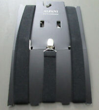 Alfani Men's Clip-On Suspenders, Black, One Size