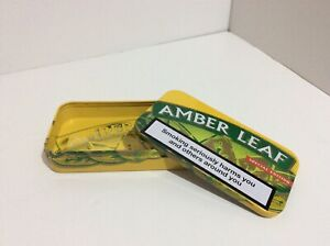Amber Leaf Special Edition 25g Tobacco Tin Collectable Rare No Longer Produced