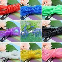 5M Rubber Hose Tube Beading Thread Cord Bracelet String For Jewelry Making 4*3mm