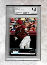 BGS 8.5 w 8.5 MIKE TROUT 2011 BOWMAN TOPPS 100 #TP90