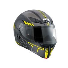 Agv helmet casque casco Compact ST modulare Seattle black yellow pinlock 2017