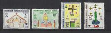 1979 Noël Nouvelles-Hébrides 4 timbres neufs  /T1352