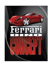 Ferreri Dino Concept Custom car poster Art