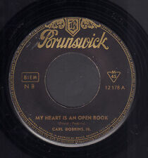 "CARL DOBKINS JR. ‎– My Heart Is An Open Book (1959 VINYL SINGLE 7"" GERMANY)"
