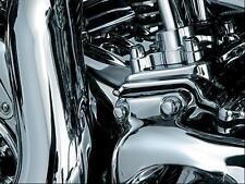 Kuryakyn 8694 Rear Cylinder Base Chrome Cover Harley Dresser Models 2009-2016