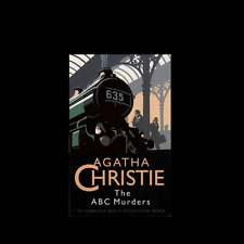 THE ABC MURDERS by Agatha Christie FREE SHIPPING a paperback book