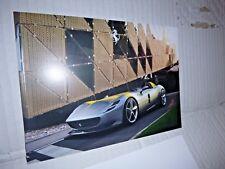 Ferrari MONZA SP1 , Genuine CARD Ferrari