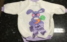Playmates Vintage 1986 Cricket Doll Indoor Play Time Outfit EC Easter Bunny