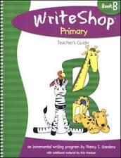 WriteShop Teacher Guide - Primary Book B