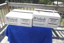RARE OLD SCHOOL MCINTOSH MX4000 MDA4000 SET IN BOXES LOADED AND SERVICED CD UNIT