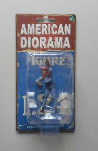 "Retro Female Mechanic II American Diorama 1:24 Scale Figurine 2.5"" Lady Figure"