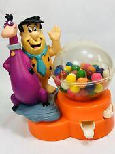 Vintage Flintstones Bubble Gum Machine Fred & Dino