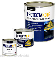 Protectakote Anti-Slip Coating in 5 Colours with Optional Solvent, Roller &Tray
